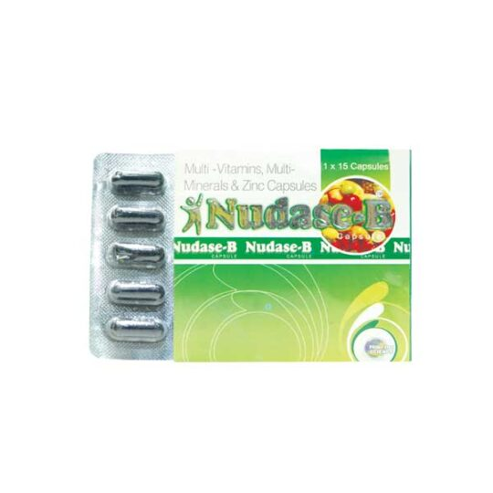 What are the side effects Nudase-B multivitamin capsules
