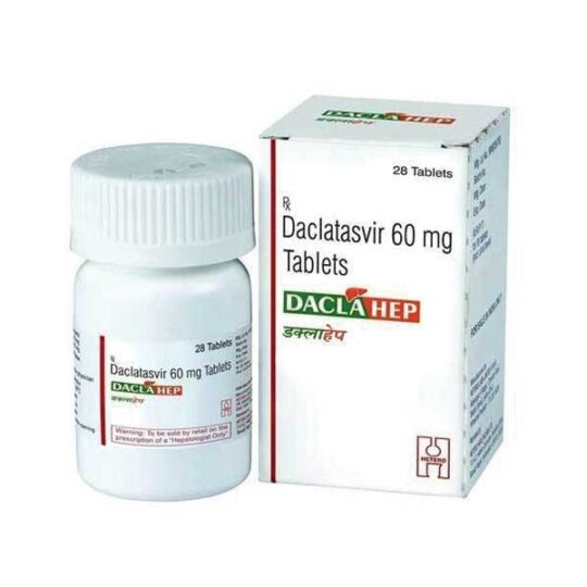 Best supplier of Daclahep 60mg tables in india