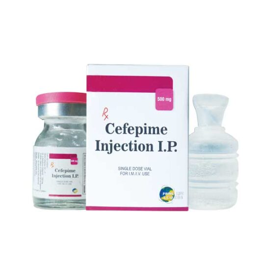 wholesaler and supplier of Cefepime Injection I.P.