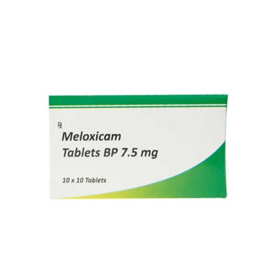 how to take Meloxicam tablet BP 7.5mg