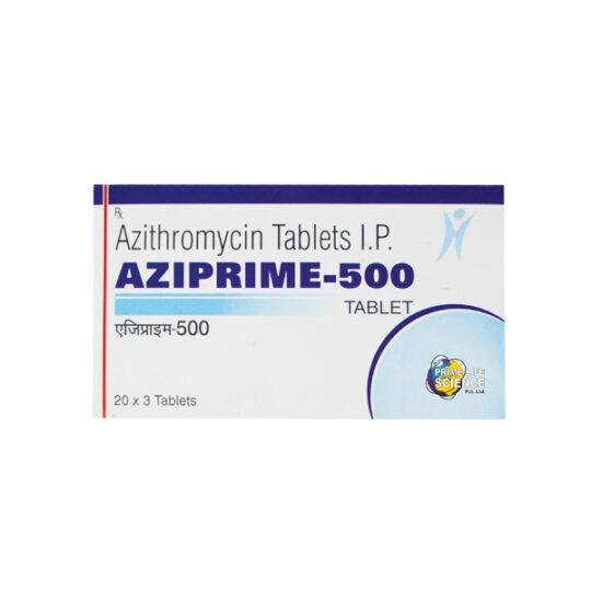 how to take Aziprime-500 tablet